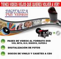 CONVERSIONES DE FORMATOS VIEJOS DE VIDEOS A DVDS